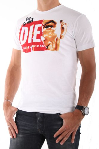 Diesel-HOMME-Tee-Shirts-Manches-Courtes-JEB-BLANC-0