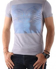 Diesel-HOMME-Tee-Shirts-Manches-Courtes-RAYE-ARGENTE-GRIS-CL-0
