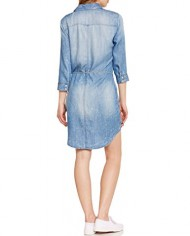 Only-Henna-Robe-Chemise-Uni-Manches-longues-Femme-0-0