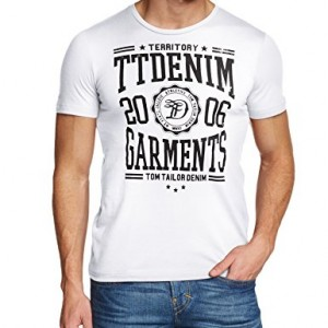 Tom-Tailor-Denim-College-CI-T-shirt-Asymtrique-Imprim-Manches-courtes-Homme-0