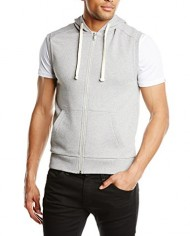United-Colors-of-Benetton-Hooded-Sleeveless-Vest-Sweat-shirt-Sans-manche-Homme-0