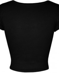 WearAll-Work-Out-imprim-t-shirt-crop-top-a-manches-courts-Hauts-Femmes-Tailles-36–42-0-0