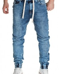 Yazubi-Homme-Jean-Jogging-Ash-Jogging-Pantalon-Sweatpants-in-Jeans-Look-0